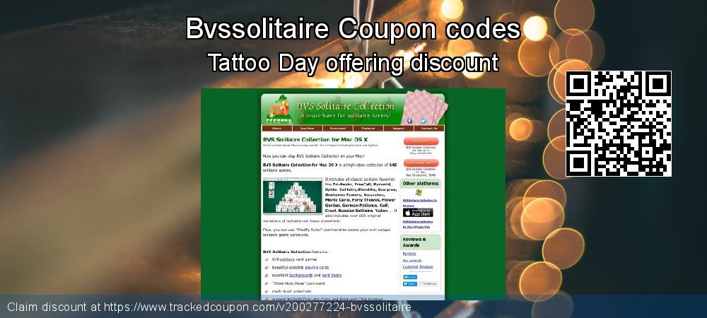Bvssolitaire Coupon discount, offer to 2020