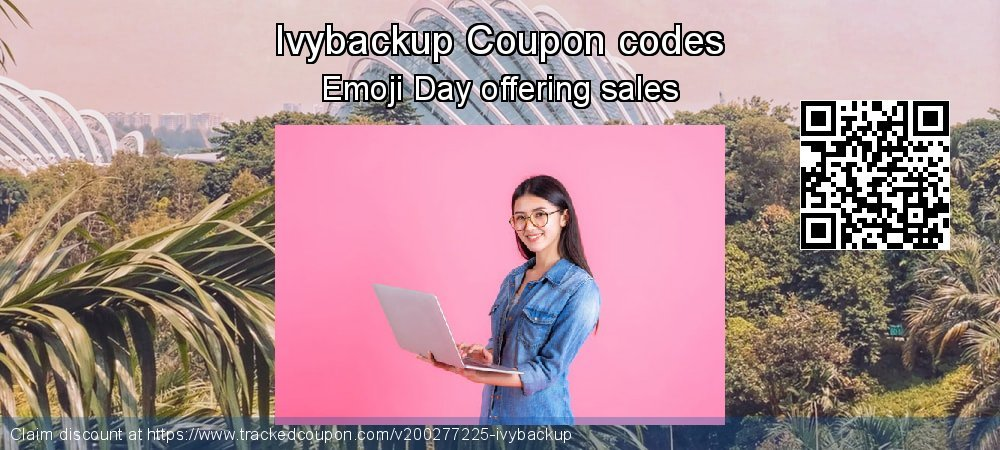 Ivybackup Coupon discount, offer to 2020 Valentine's Day