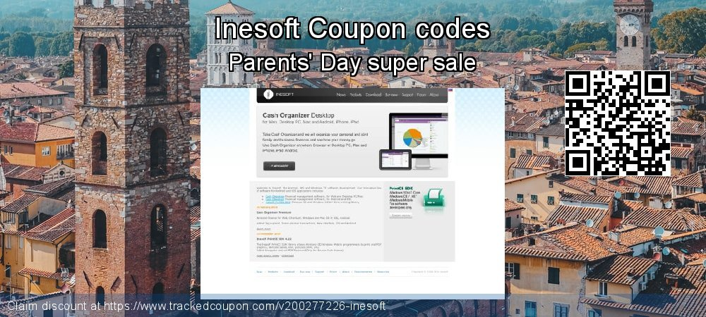 Inesoft Coupon discount, offer to 2020
