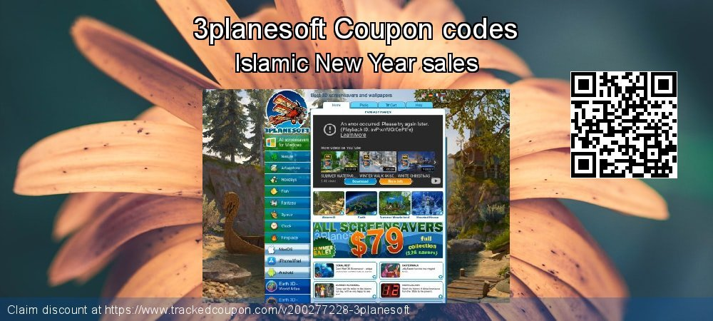 3planesoft Coupon discount, offer to 2020