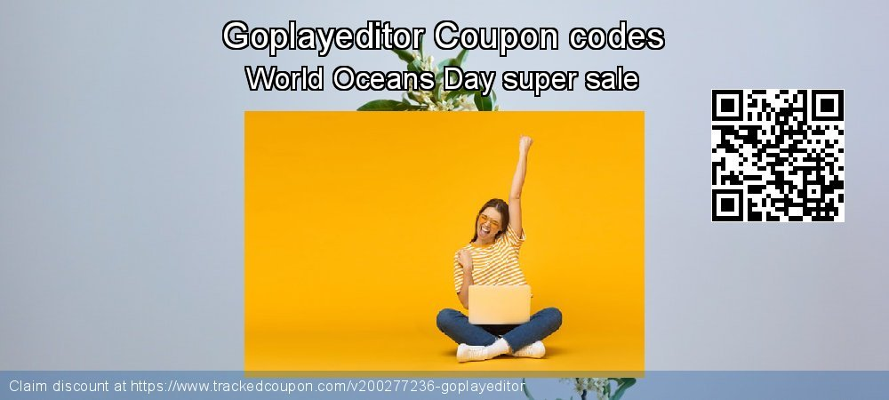 Goplayeditor Coupon discount, offer to 2021