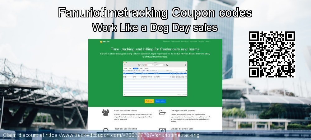 Fanuriotimetracking Coupon discount, offer to 2020