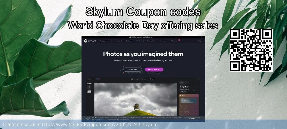 Skylum Coupon discount, offer to 2021