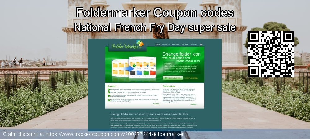 Foldermarker Coupon discount, offer to 2021