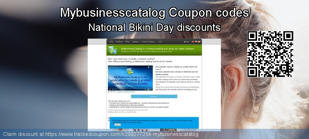 Mybusinesscatalog Coupon discount, offer to 2020 Super bowl