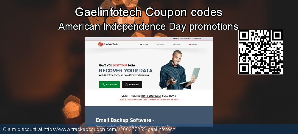 Gaelinfotech Coupon discount, offer to 2020 Valentines Day