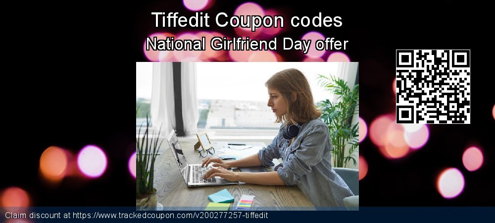 Tiffedit Coupon discount, offer to 2020 Super bowl