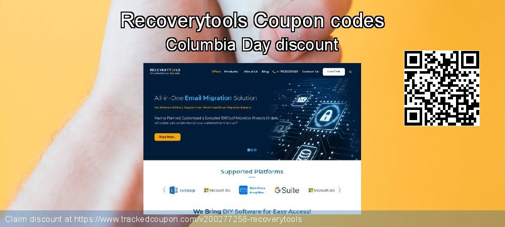 Recoverytools Coupon discount, offer to 2021
