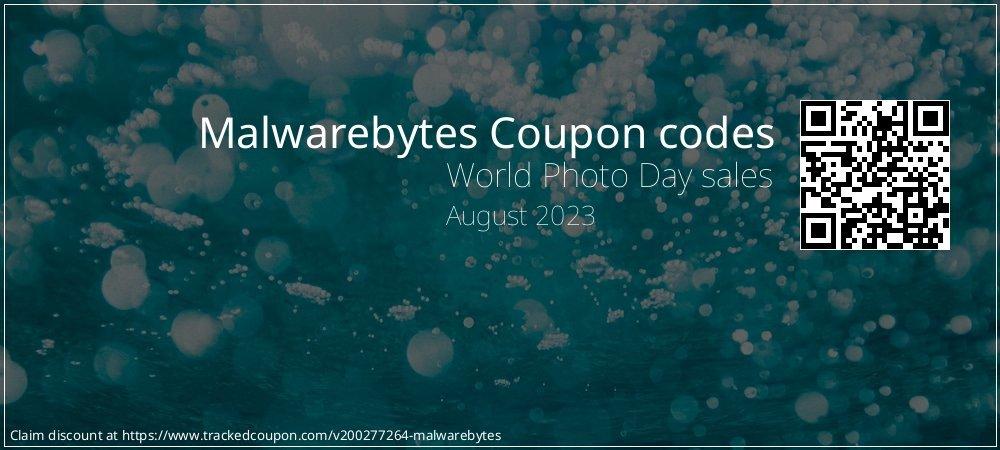 Malwarebytes Coupon discount, offer to 2020
