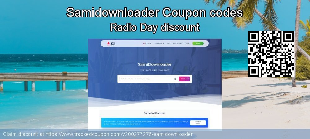 Samidownloader Coupon discount, offer to 2020