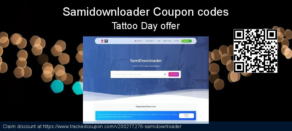 Samidownloader Coupon discount, offer to 2020 April Fool's Day