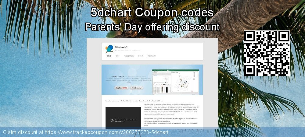 5dchart Coupon discount, offer to 2020