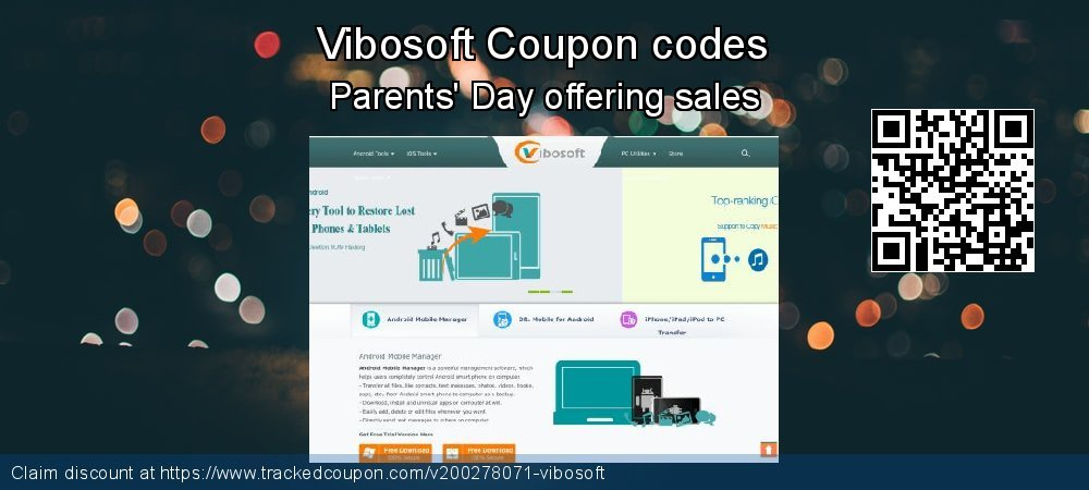 Vibosoft Coupon discount, offer to 2021