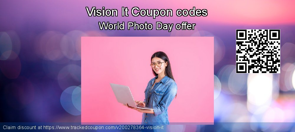 Vision It Coupon discount, offer to 2020