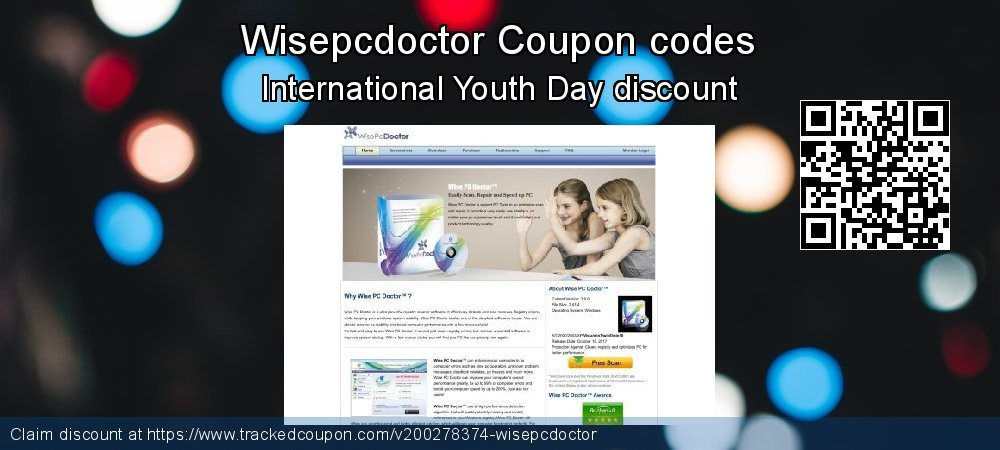 Wisepcdoctor Coupon discount, offer to 2021