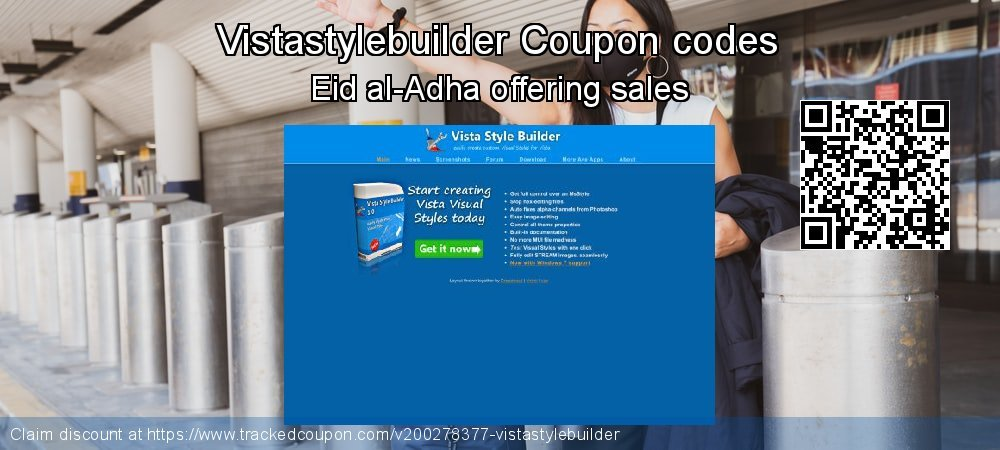 Vistastylebuilder Coupon discount, offer to 2021