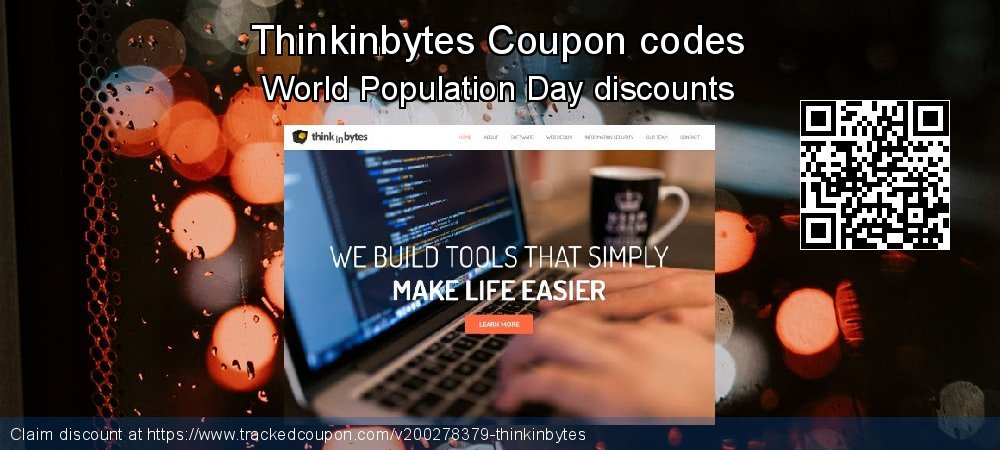 Thinkinbytes Coupon discount, offer to 2020