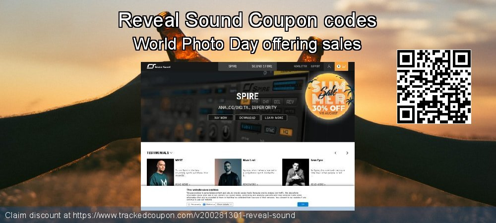 Reveal Sound Coupon discount, offer to 2021