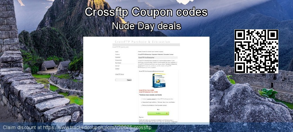 Crossftp Coupon discount, offer to 2020