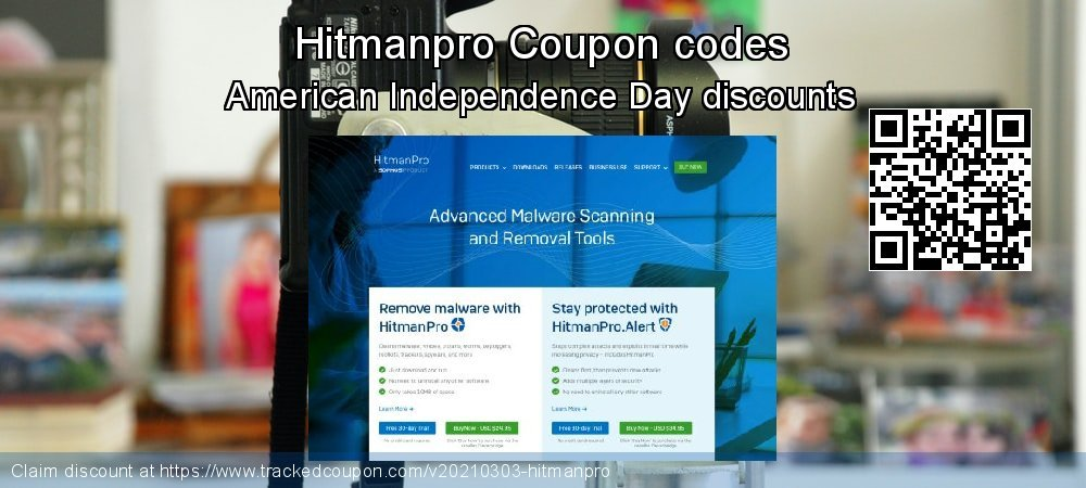 Hitmanpro Coupon discount, offer to 2021