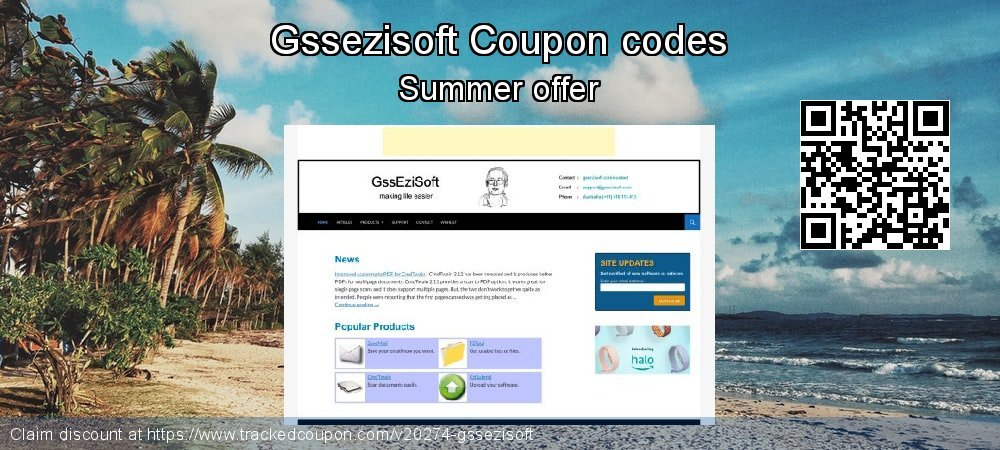Gssezisoft Coupon discount, offer to 2019 Easter