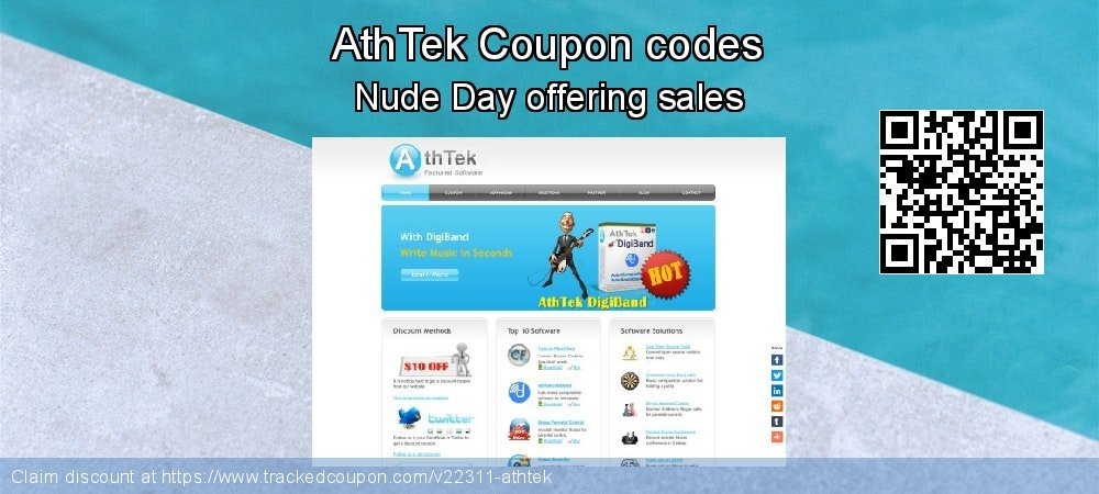 AthTek Coupon discount, offer to 2019 Back to School promotion
