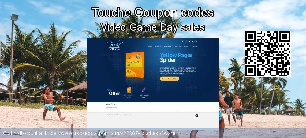 Touche Coupon discount, offer to 2019  Lover's Day