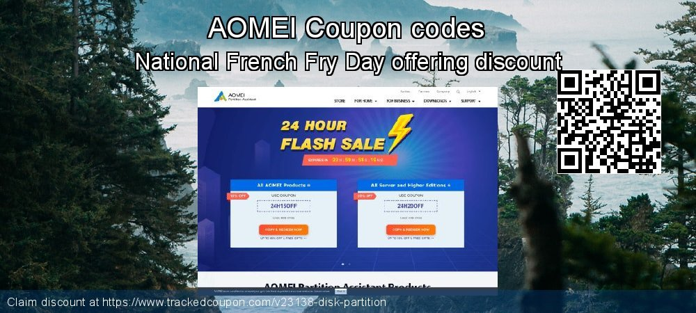 AOMEI Coupon discount, offer to 2019 Valentine Week