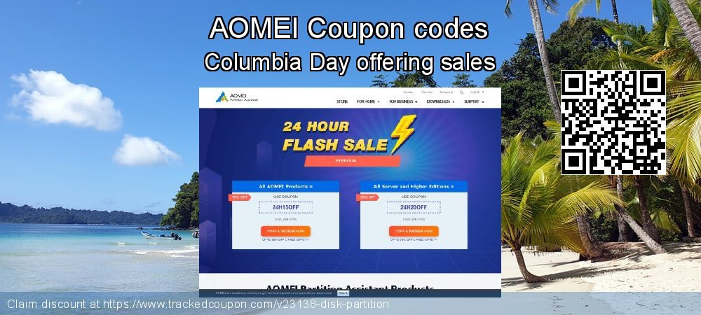 AOMEI Coupon discount, offer to 2018 New Year's eve