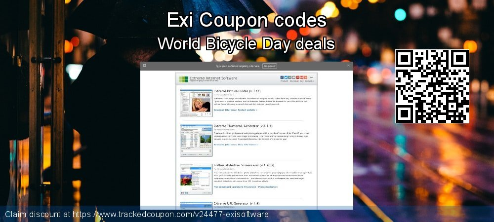 Exi Coupon discount, offer to 2020