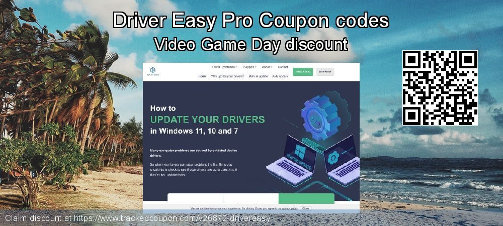 Driver Easy Pro Coupon discount, offer to 2019 April Fool's Day