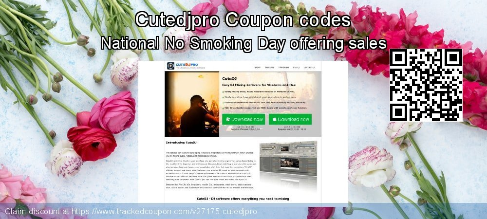 Cutedjpro Coupon discount, offer to 2019 Spring