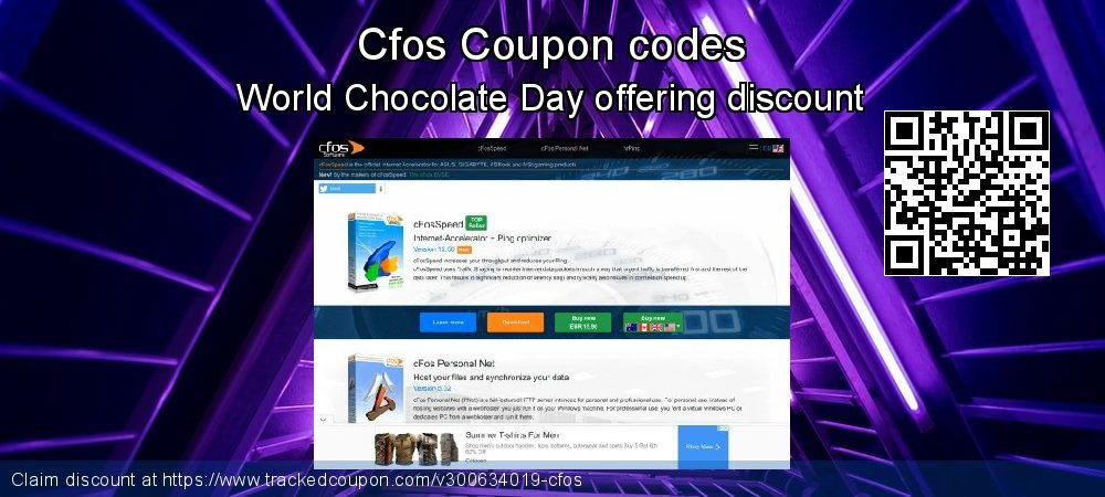 Cfos Coupon discount, offer to 2021