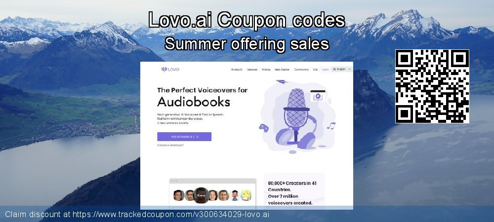 Lovo.ai Coupon discount, offer to 2021
