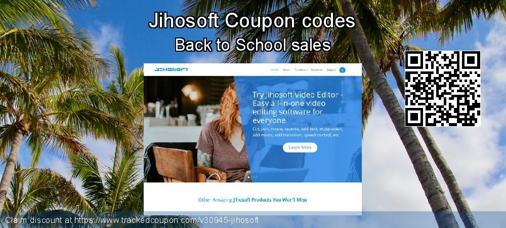 Jihosoft Coupon discount, offer to 2020 New Year's Day