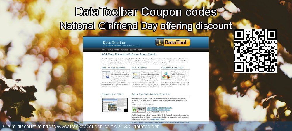 DataToolbar Coupon discount, offer to 2019  Lover's Day