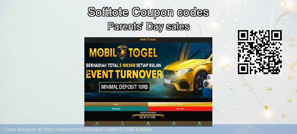 Softtote Coupon discount, offer to 2021