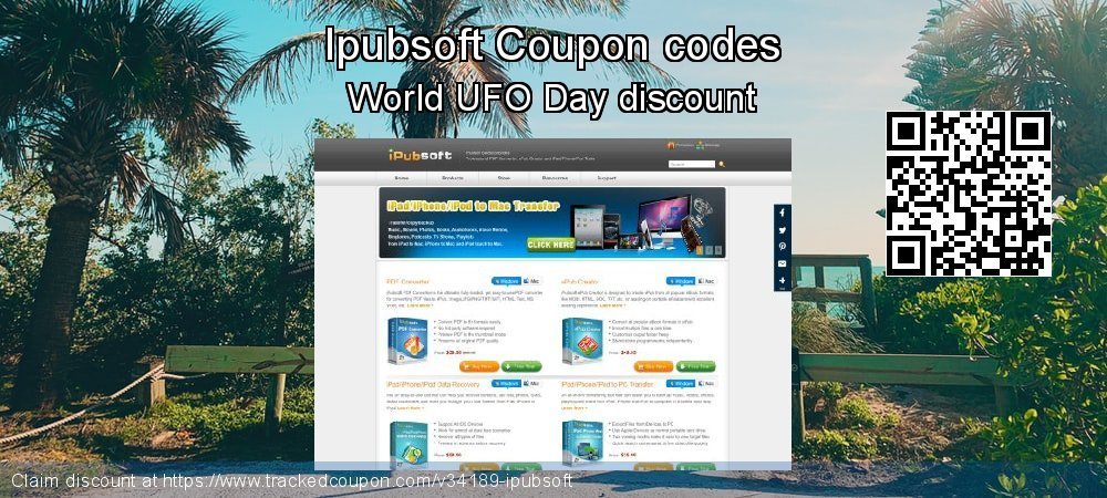 Ipubsoft Coupon discount, offer to 2020 April Fool's Day