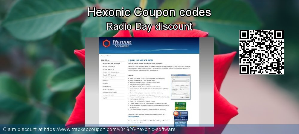 Hexonic Coupon discount, offer to 2021