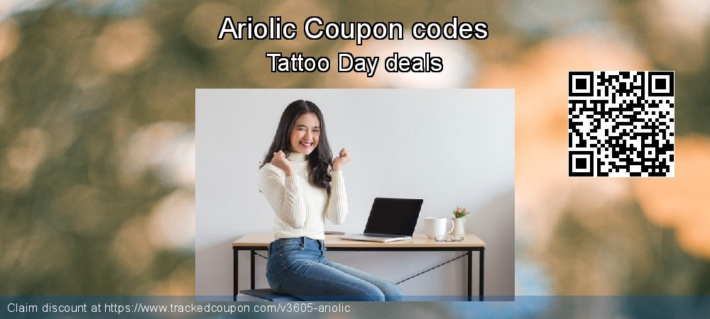 Ariolic Coupon discount, offer to 2019 Valentine's Day