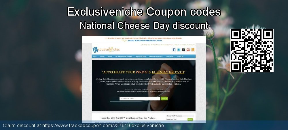 Exclusiveniche Coupon discount, offer to 2020