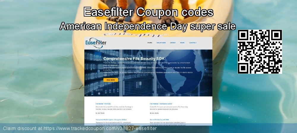 Easefilter Coupon discount, offer to 2020