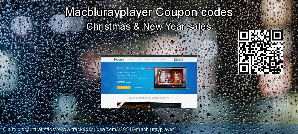 Macblurayplayer Coupon discount, offer to 2020 Happy New Year