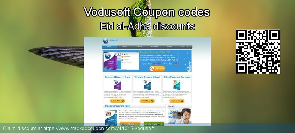 Vodusoft Coupon discount, offer to 2019 Christmas & New Year