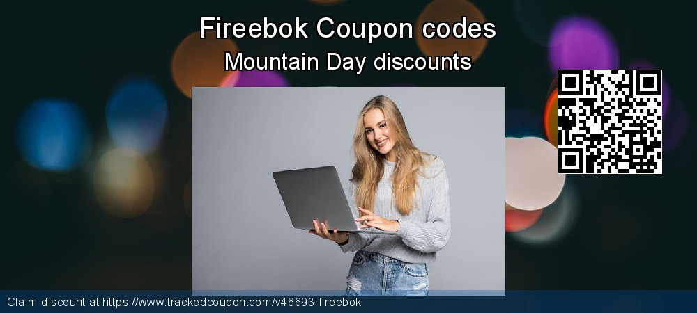 Fireebok Coupon discount, offer to 2021