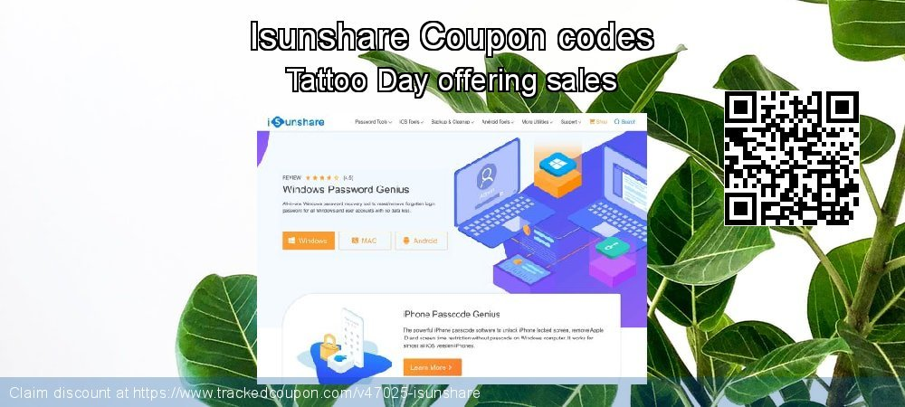 Isunshare Coupon discount, offer to 2021