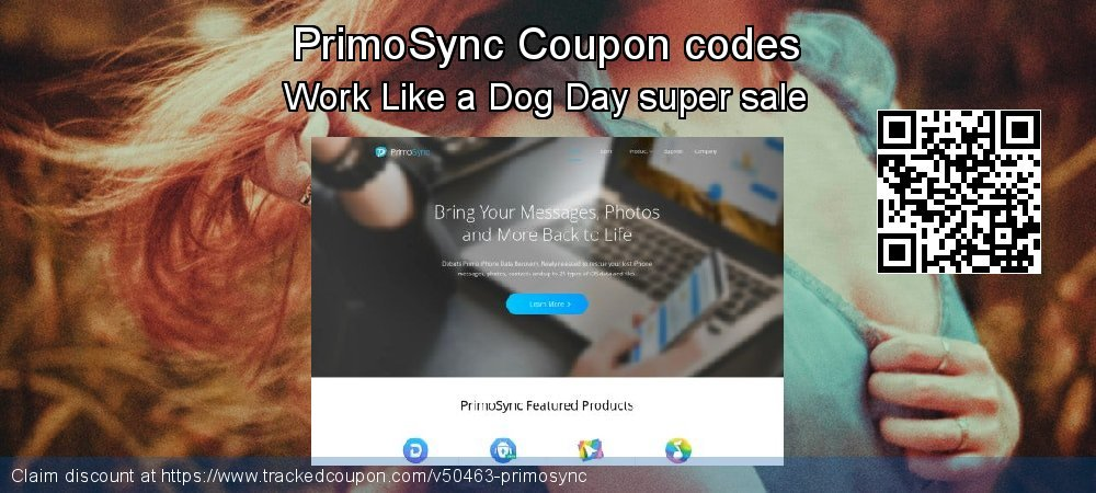 PrimoSync Coupon discount, offer to 2019 Back to School promotion