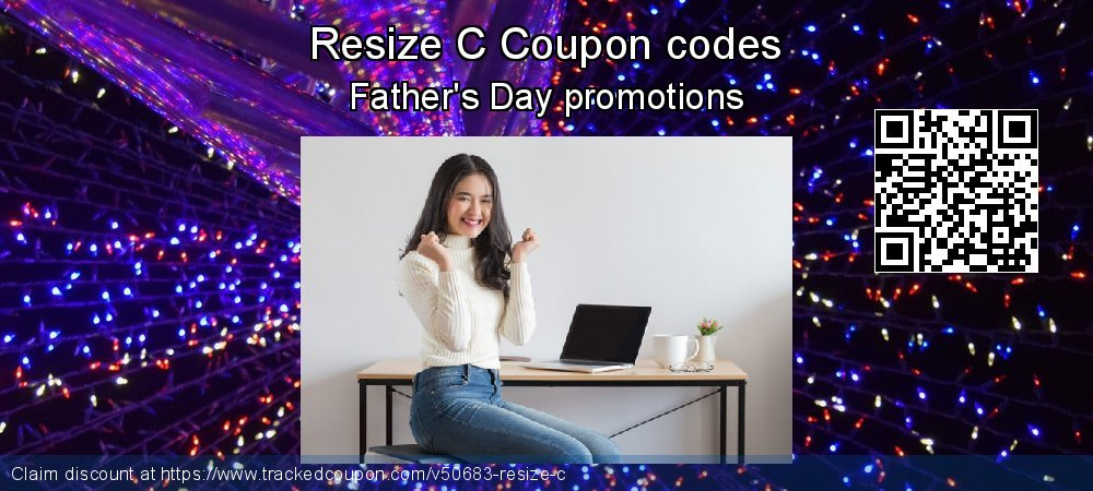 Resize C Coupon discount, offer to 2018 New Year's Day