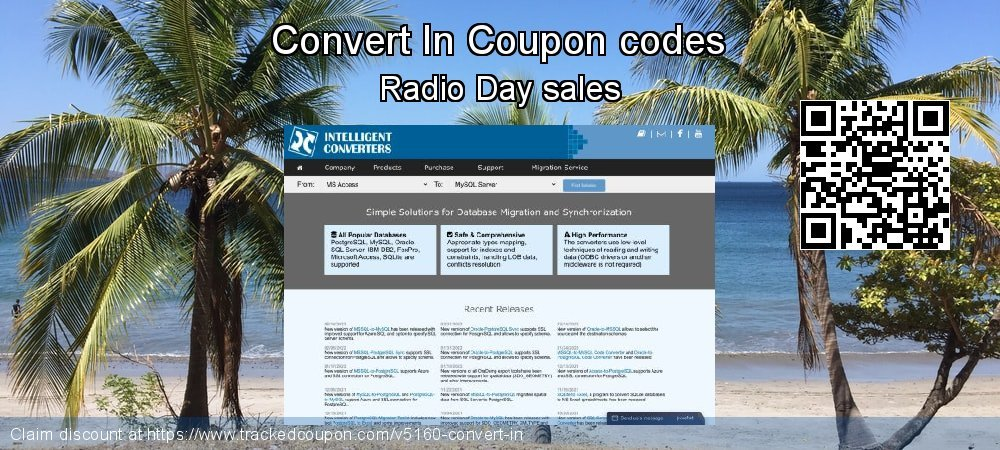 Convert In Coupon discount, offer to 2020