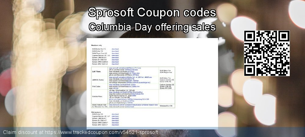 Sprosoft Coupon discount, offer to 2019 Xmas